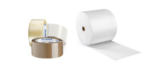 Beskyttelse, pakketape, etiketter