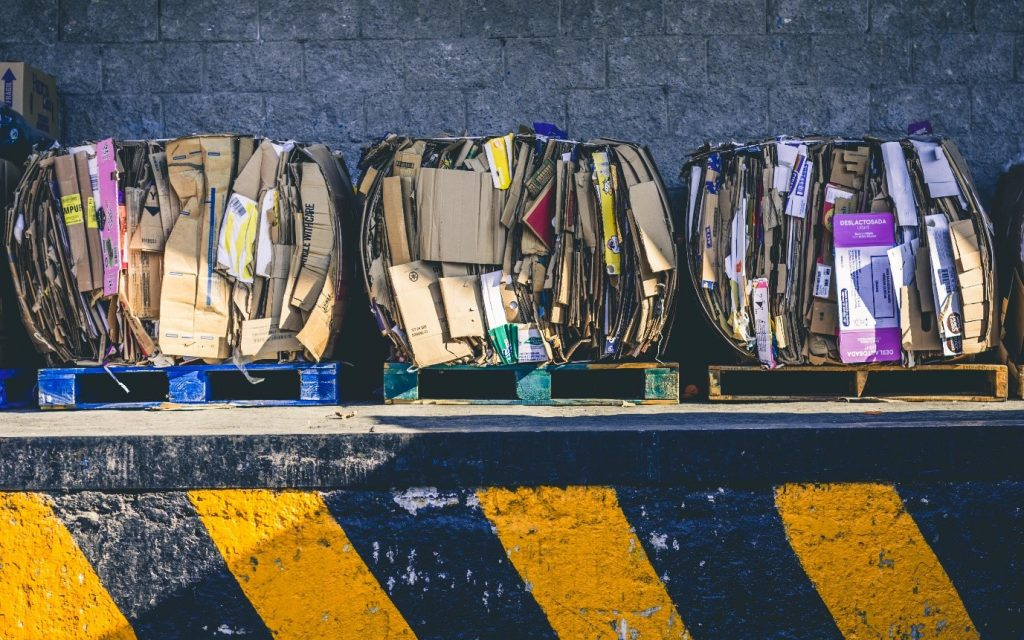 Papkasser til kompost