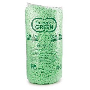 Flo-pak Super Green - bionedbrydelig emballage til at beskytte produkter under forsendelse